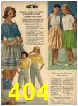 1962 Sears Spring Summer Catalog, Page 404