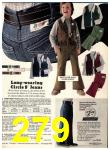 1974 Sears Fall Winter Catalog, Page 279
