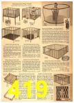 1958 Sears Spring Summer Catalog, Page 419