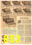 1958 Sears Spring Summer Catalog, Page 853