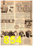 1964 Sears Spring Summer Catalog, Page 854