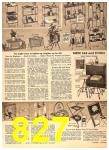 1956 Sears Fall Winter Catalog, Page 827