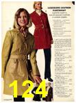 1973 Sears Fall Winter Catalog, Page 124