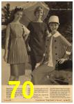 1961 Sears Spring Summer Catalog, Page 70