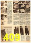 1962 Sears Fall Winter Catalog, Page 409