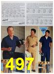 1985 Sears Spring Summer Catalog, Page 497
