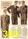 1949 Sears Spring Summer Catalog, Page 360