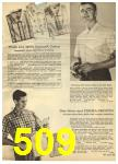 1960 Sears Spring Summer Catalog, Page 509