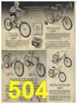 1965 Sears Fall Winter Catalog, Page 504