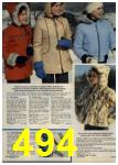 1979 Sears Fall Winter Catalog, Page 494