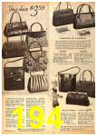 1962 Sears Fall Winter Catalog, Page 194