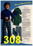 1972 Sears Fall Winter Catalog, Page 308