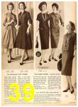 1958 Sears Fall Winter Catalog, Page 39