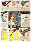 1942 Sears Spring Summer Catalog, Page 537