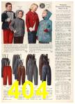 1958 Sears Fall Winter Catalog, Page 404