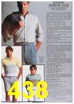1985 Sears Spring Summer Catalog, Page 438
