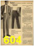 1962 Sears Spring Summer Catalog, Page 604