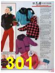 1986 Sears Fall Winter Catalog, Page 301
