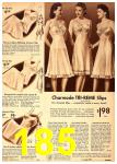 1942 Sears Spring Summer Catalog, Page 185