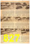 1958 Sears Spring Summer Catalog, Page 827