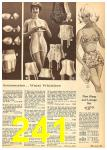 1962 Sears Fall Winter Catalog, Page 241