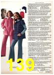 1975 Sears Fall Winter Catalog, Page 139