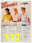 1987 Sears Spring Summer Catalog, Page 112