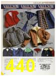 1985 Sears Fall Winter Catalog, Page 440