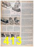 1957 Sears Spring Summer Catalog, Page 413