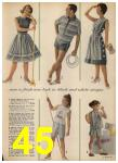 1962 Sears Spring Summer Catalog, Page 45