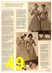 1958 Sears Spring Summer Catalog, Page 49