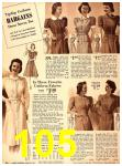 1940 Sears Fall Winter Catalog, Page 105