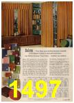1962 Sears Spring Summer Catalog, Page 1497