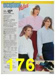 1988 Sears Fall Winter Catalog, Page 176