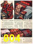 1940 Sears Fall Winter Catalog, Page 804