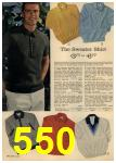 1961 Sears Spring Summer Catalog, Page 550