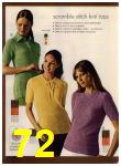 1972 Sears Fall Winter Catalog, Page 72