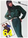 1988 Sears Fall Winter Catalog, Page 64