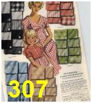 1960 Sears Spring Summer Catalog, Page 307