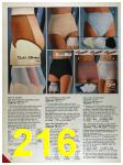 1986 Sears Fall Winter Catalog, Page 216