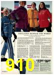 1972 Sears Fall Winter Catalog, Page 910