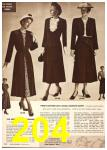 1949 Sears Spring Summer Catalog, Page 204