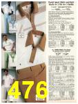 1981 Sears Spring Summer Catalog, Page 476