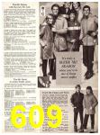 1969 Sears Fall Winter Catalog, Page 609