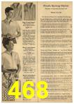 1961 Sears Spring Summer Catalog, Page 468