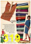 1962 Sears Fall Winter Catalog, Page 319