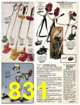 1981 Sears Spring Summer Catalog, Page 831