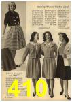 1961 Sears Spring Summer Catalog, Page 410