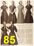 1956 Sears Fall Winter Catalog, Page 85