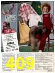 1982 Sears Fall Winter Catalog, Page 409